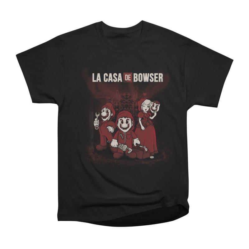 La Casa de Bowser Men's Heavyweight T-Shirt by Red Bug's Artist Shop