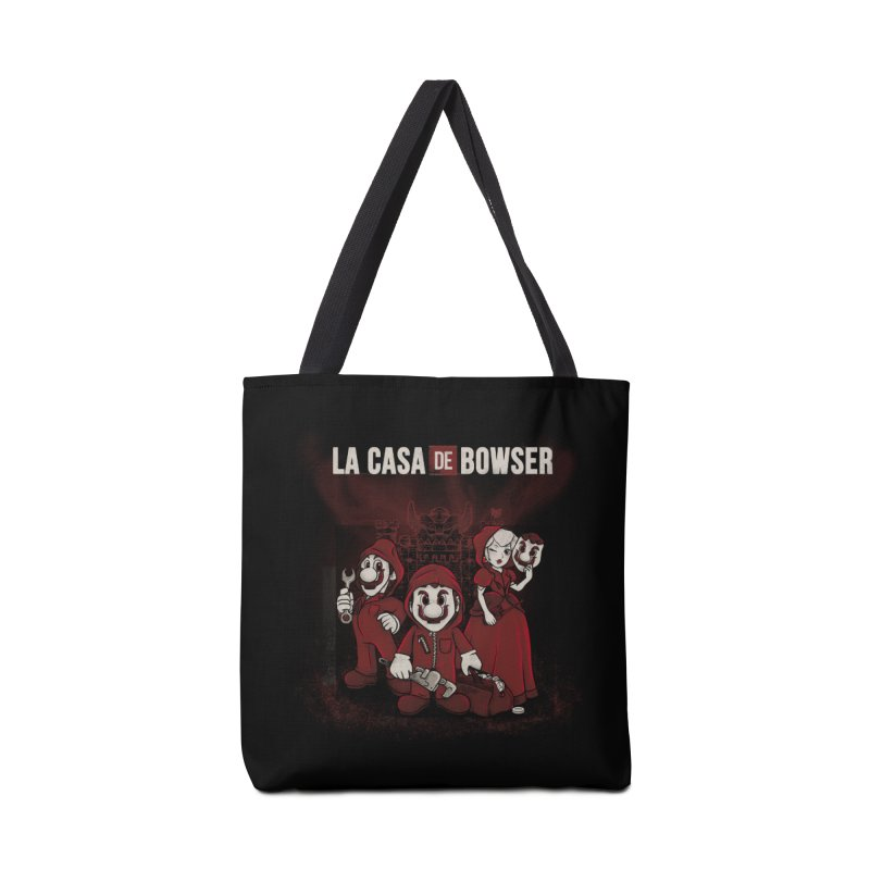 La Casa de Bowser Accessories Tote Bag Bag by Red Bug's Artist Shop