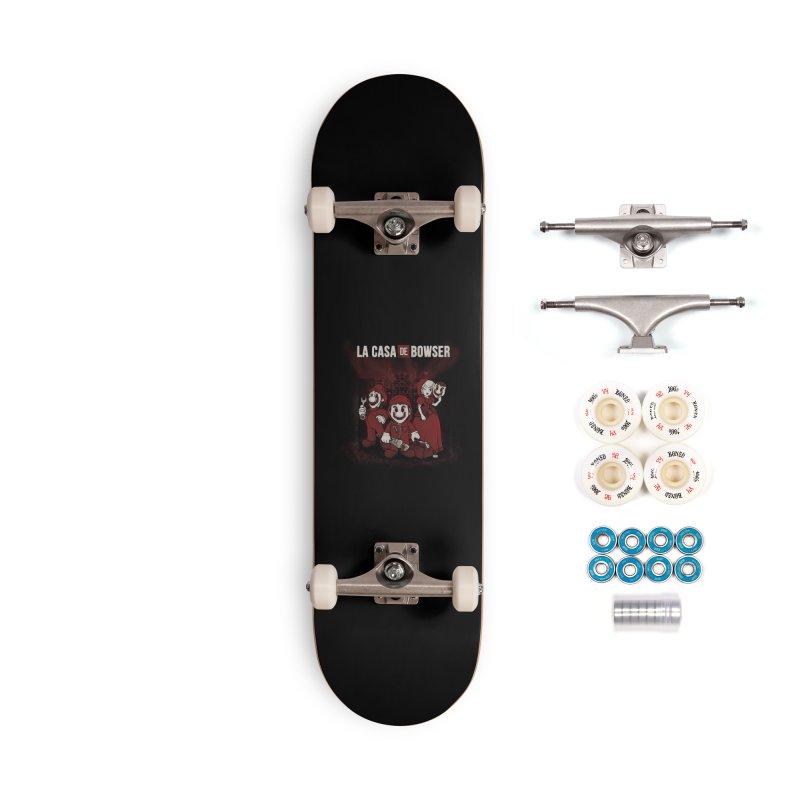 La Casa de Bowser Accessories Complete - Premium Skateboard by Red Bug's Artist Shop