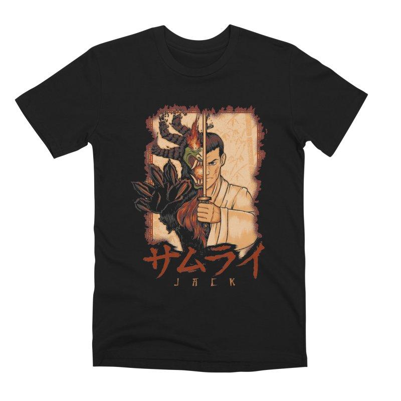 Samurai X Aku Men's Premium T-Shirt by Red Bug's Artist Shop