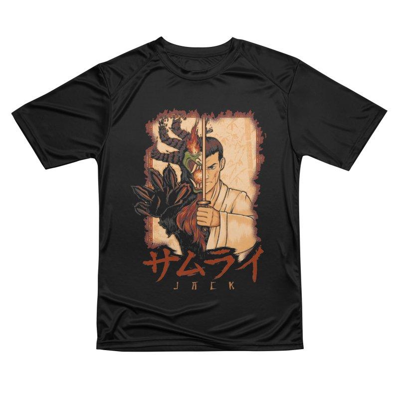 Samurai X Aku Women's Performance Unisex T-Shirt by Red Bug's Artist Shop