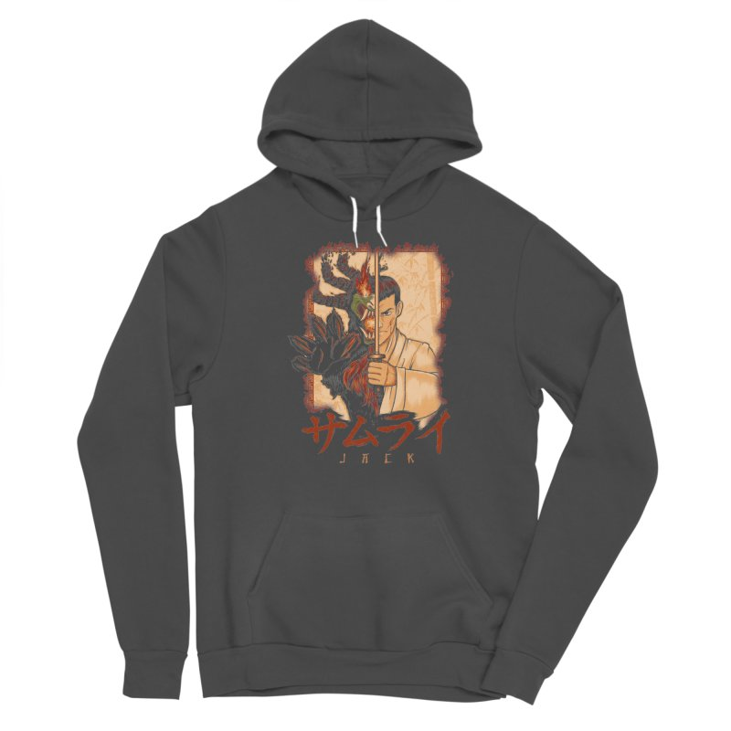 Samurai X Aku Men's Sponge Fleece Pullover Hoody by Red Bug's Artist Shop