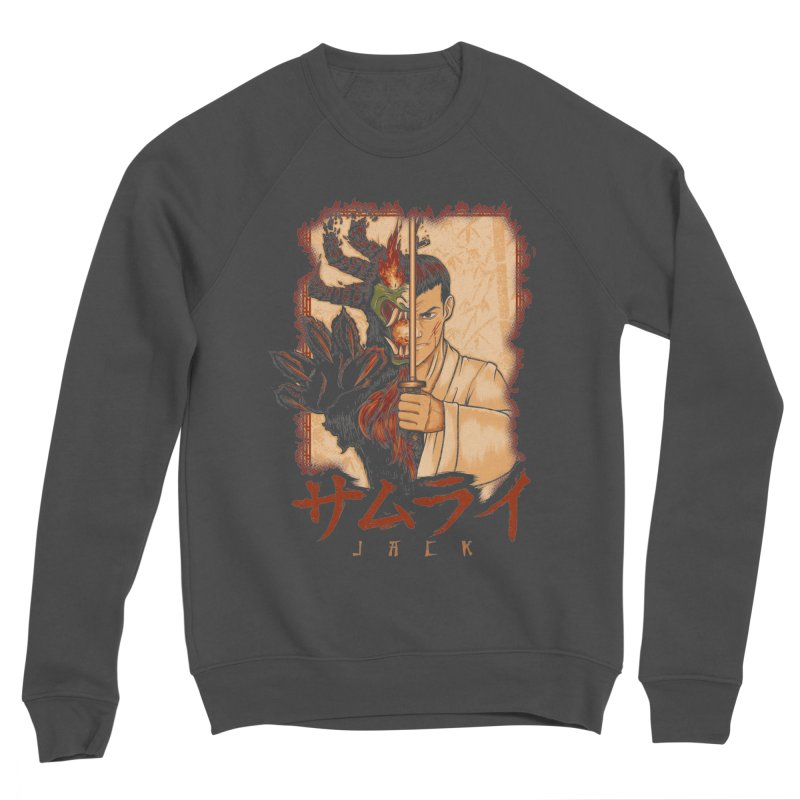 Samurai X Aku Women's Sponge Fleece Sweatshirt by Red Bug's Artist Shop