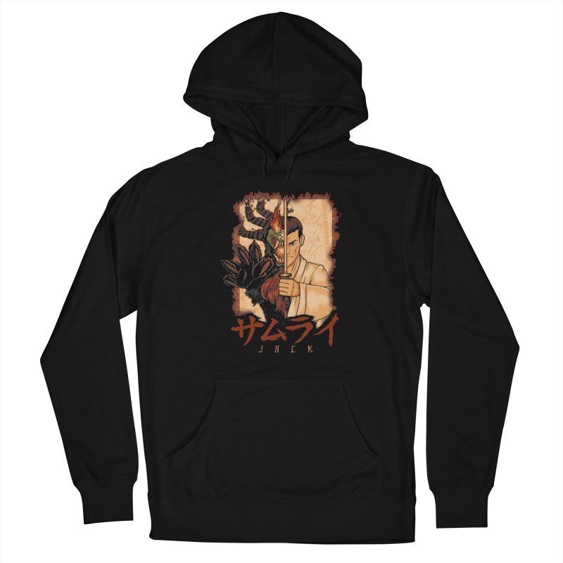 Samurai X Aku Women's French Terry Pullover Hoody by Red Bug's Artist Shop