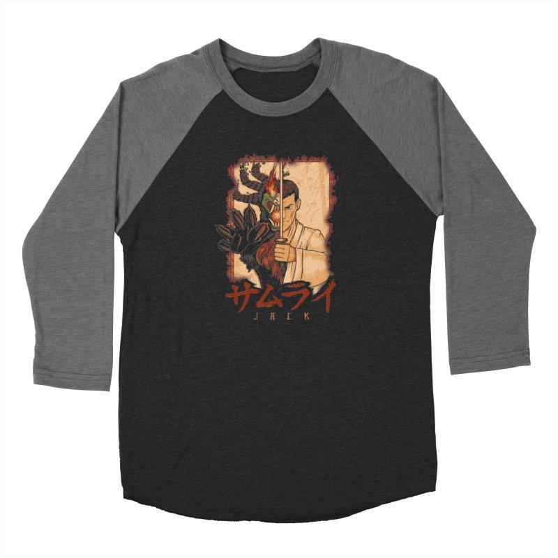 Samurai X Aku Men's Baseball Triblend Longsleeve T-Shirt by Red Bug's Artist Shop