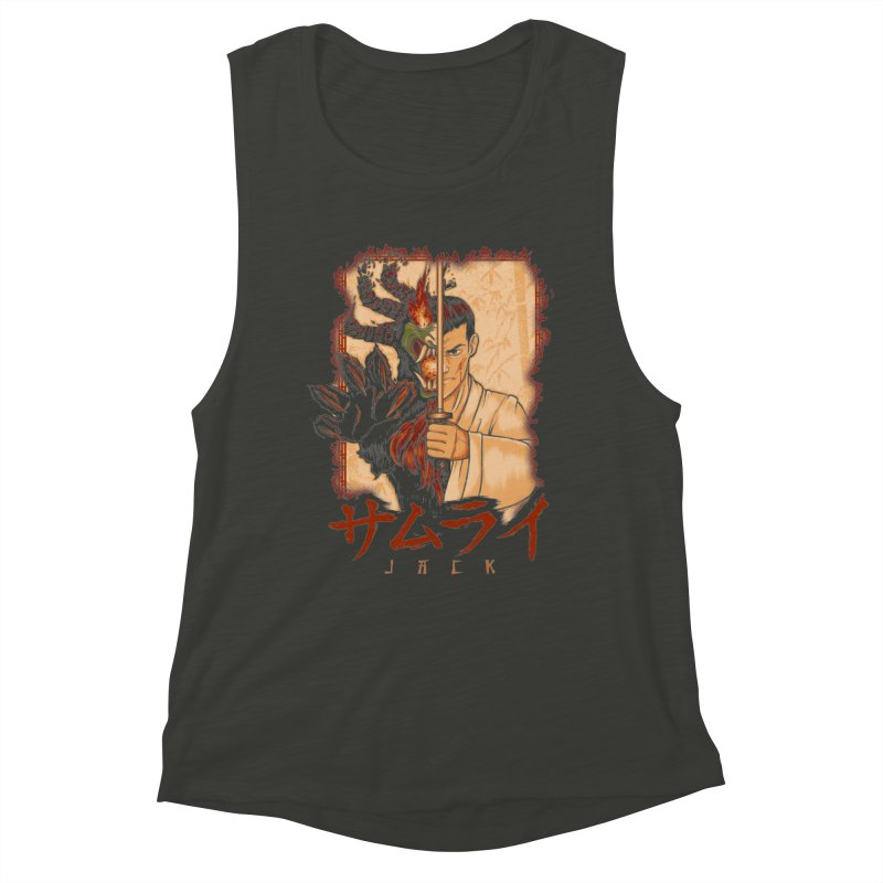 Samurai X Aku Women's Muscle Tank by Red Bug's Artist Shop