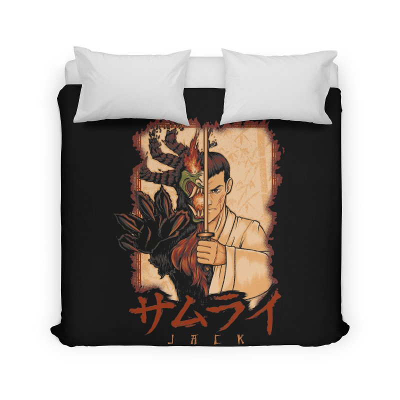 Samurai X Aku Home Duvet by Red Bug's Artist Shop