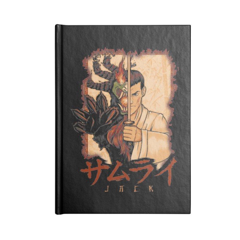 Samurai X Aku Accessories Blank Journal Notebook by Red Bug's Artist Shop