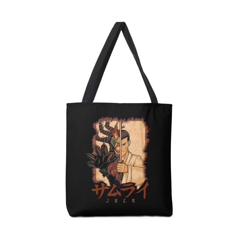 Samurai X Aku Accessories Tote Bag Bag by Red Bug's Artist Shop