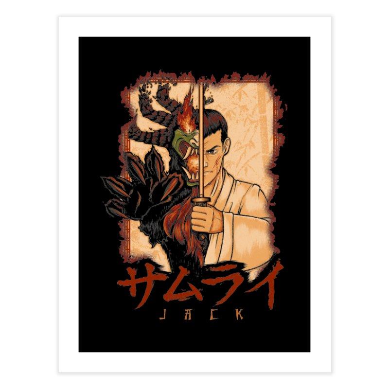 Samurai X Aku Home Fine Art Print by Red Bug's Artist Shop