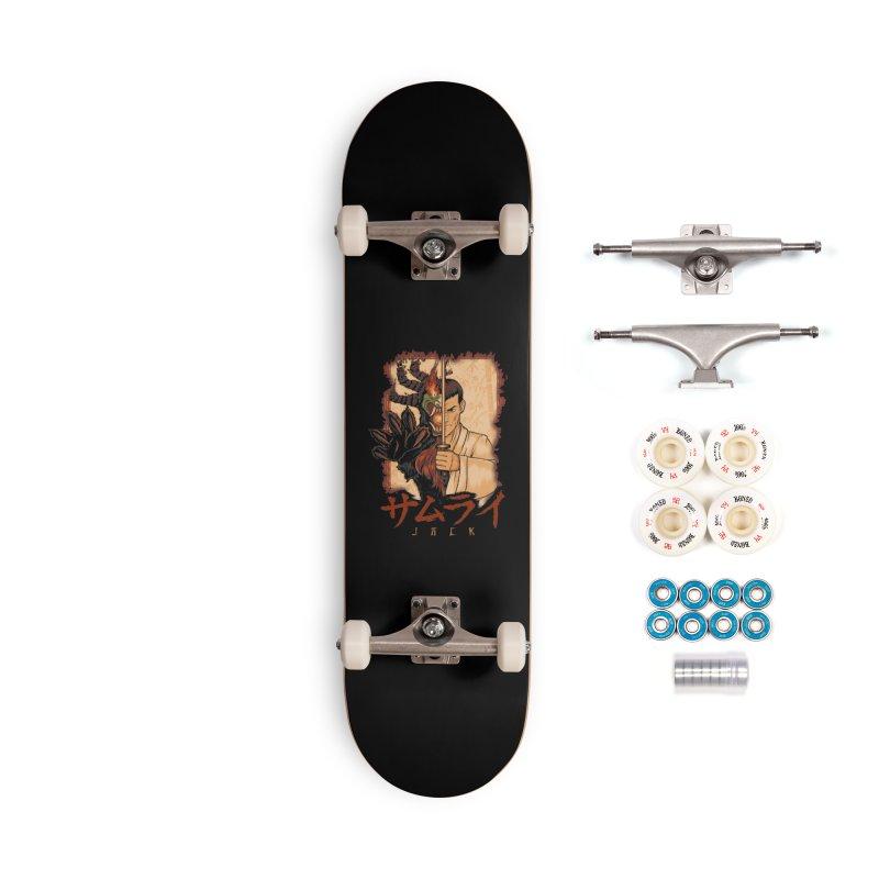 Samurai X Aku Accessories Complete - Premium Skateboard by Red Bug's Artist Shop