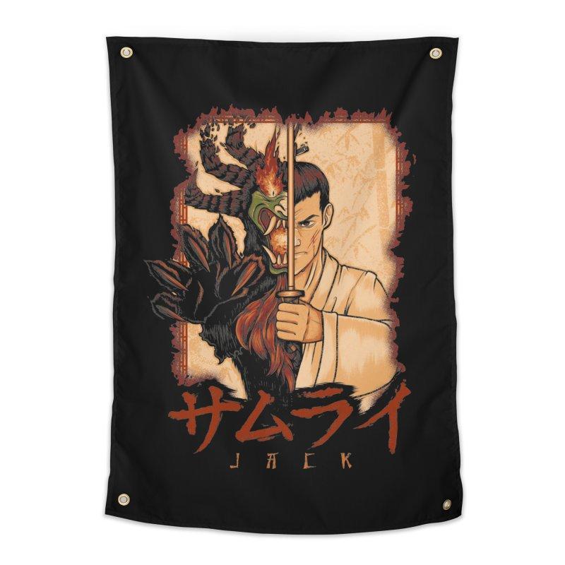 Samurai X Aku Home Tapestry by Red Bug's Artist Shop
