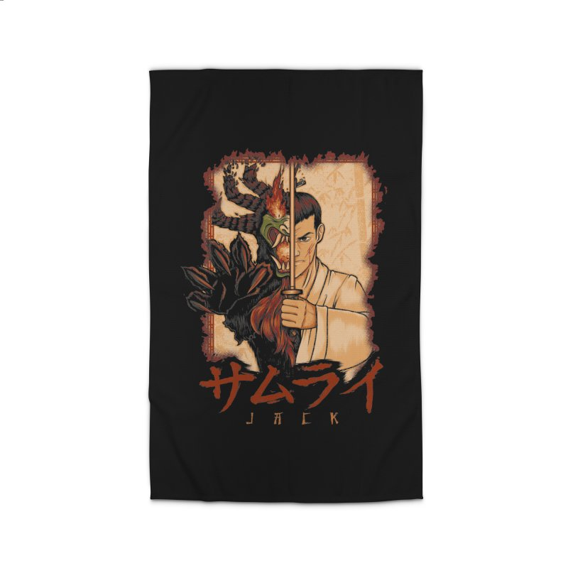 Samurai X Aku Home Rug by Red Bug's Artist Shop