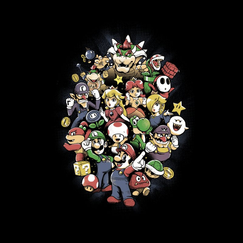 Mario Party Kids T-Shirt by Red Bug's Artist Shop