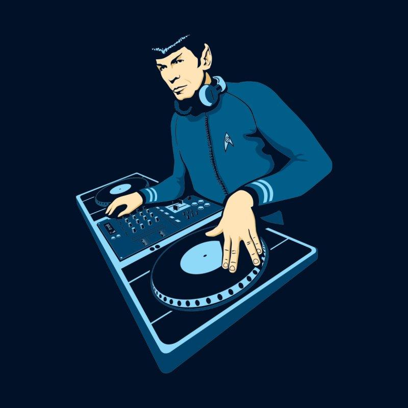 Vulcan DJ Men's T-Shirt by Red Bug's Artist Shop