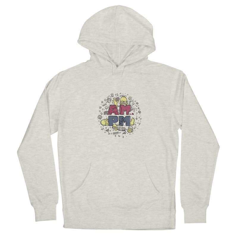 AM PM Women's Pullover Hoody by Red Bug's Artist Shop