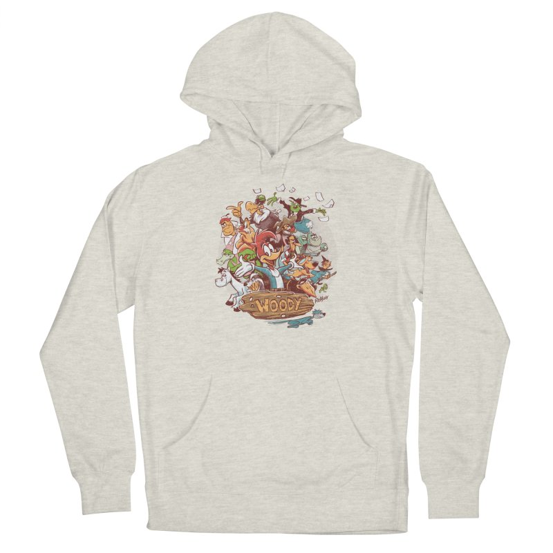 Woody Women's Pullover Hoody by Red Bug's Artist Shop