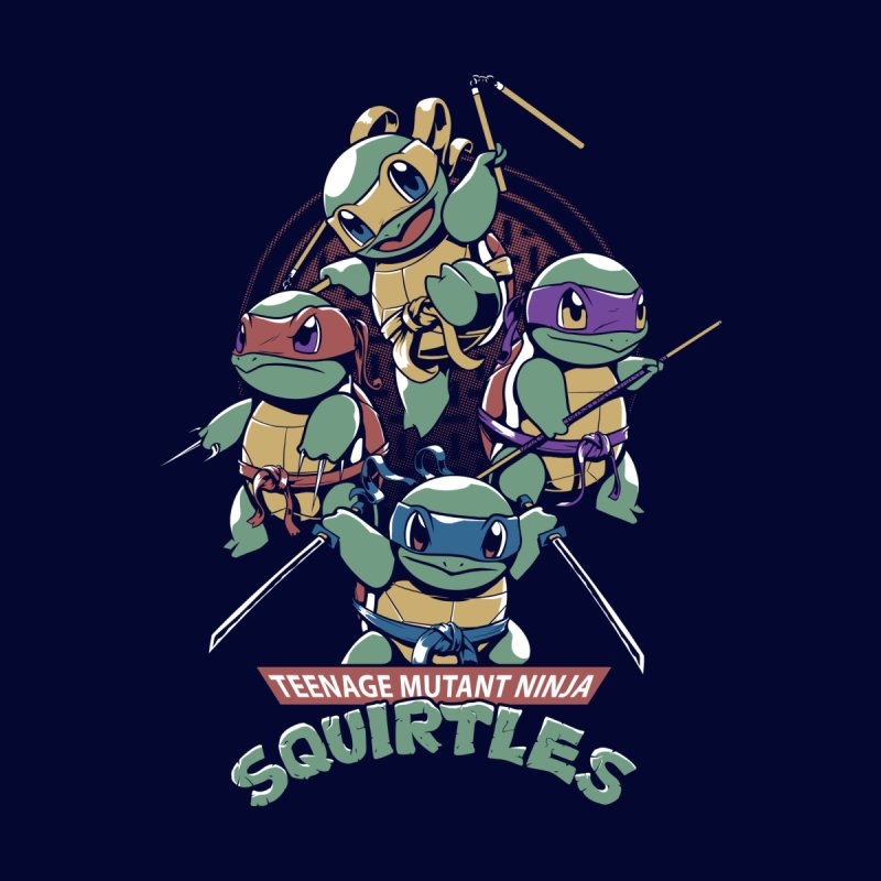 Squirtles Men's T-Shirt by Red Bug's Artist Shop