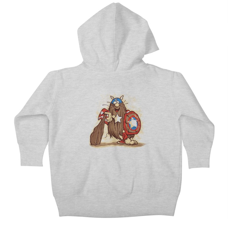 Captain Kids Baby Zip-Up Hoody by Red Bug's Artist Shop