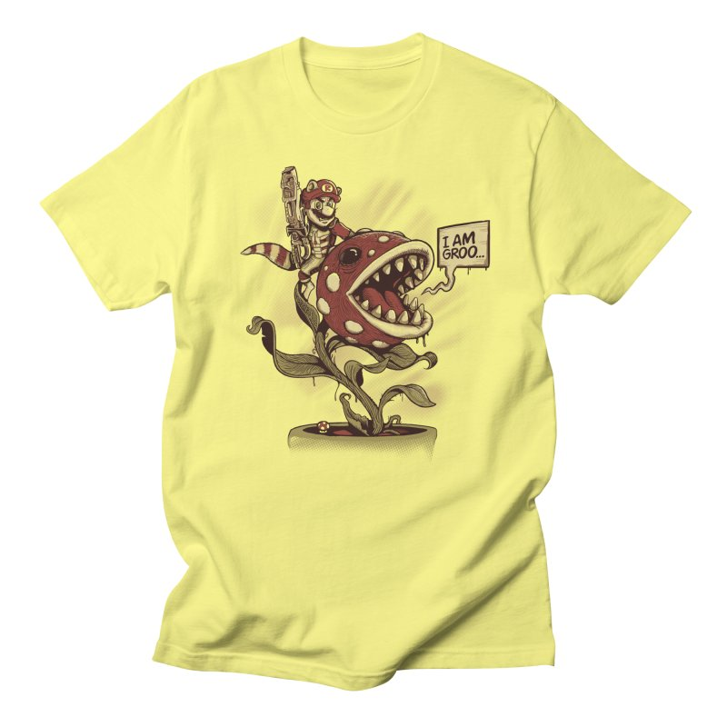Mario Raccoon Men's T-Shirt by Red Bug's Artist Shop