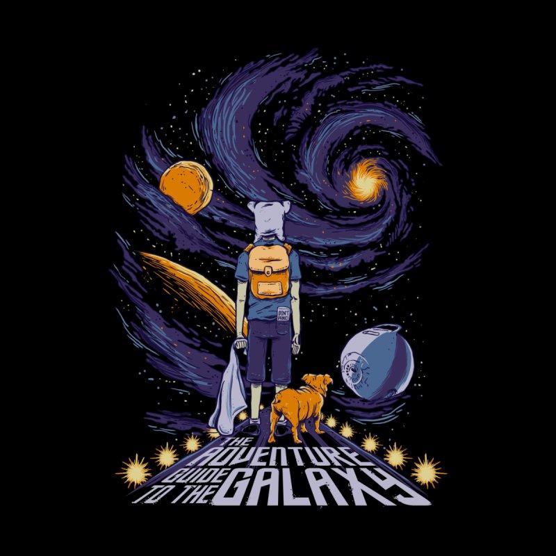 Galaxy Adventure Men's T-Shirt by Red Bug's Artist Shop