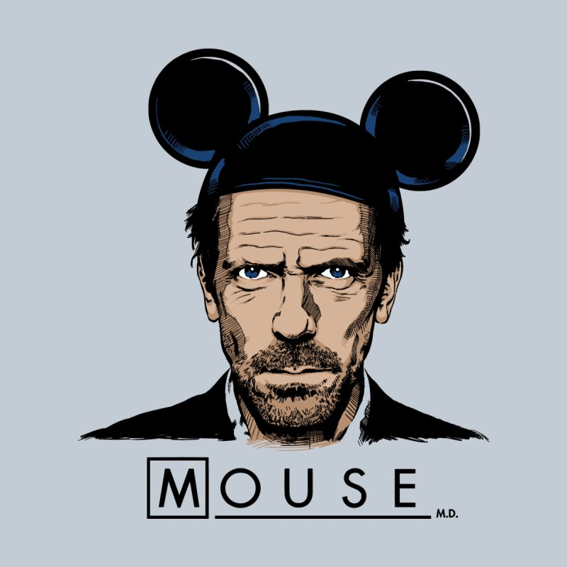 Mouse Women's T-Shirt by Red Bug's Artist Shop