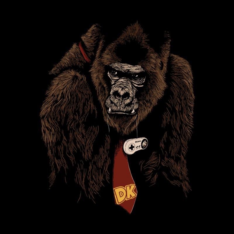 Donkey Kong Men's T-Shirt by Red Bug's Artist Shop
