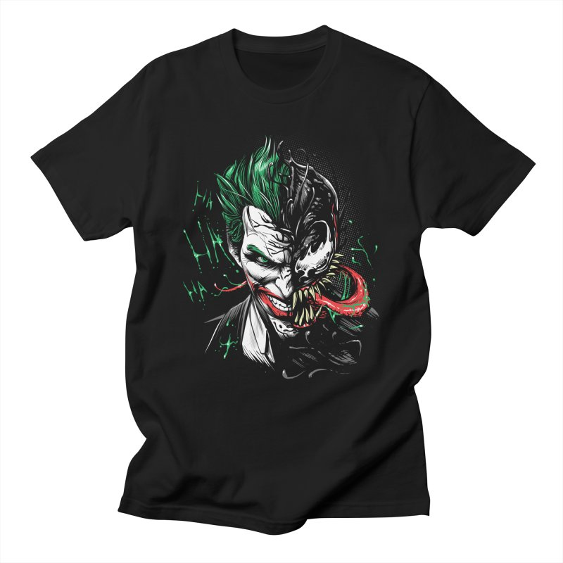 Joker Venom Men's T-Shirt by Red Bug's Artist Shop