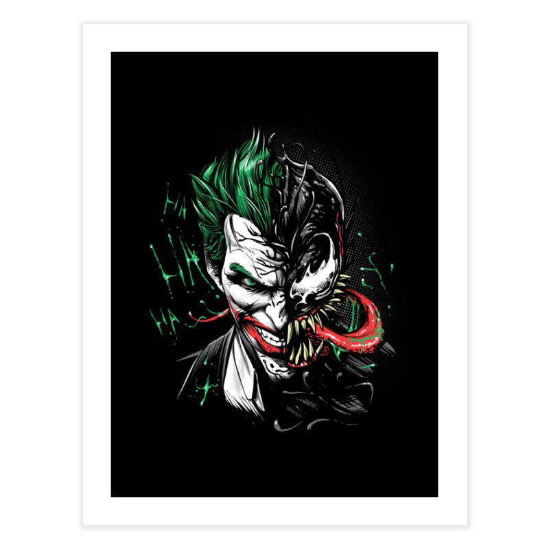 Joker Venom Home Fine Art Print by Red Bug's Artist Shop
