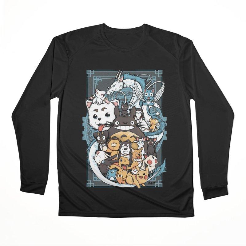 Pet Party Women's Longsleeve T-Shirt by Red Bug's Artist Shop