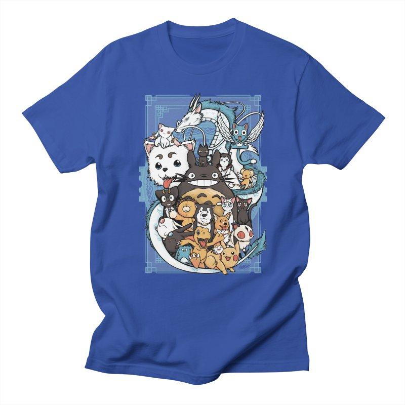Pet Party Men's T-Shirt by Red Bug's Artist Shop