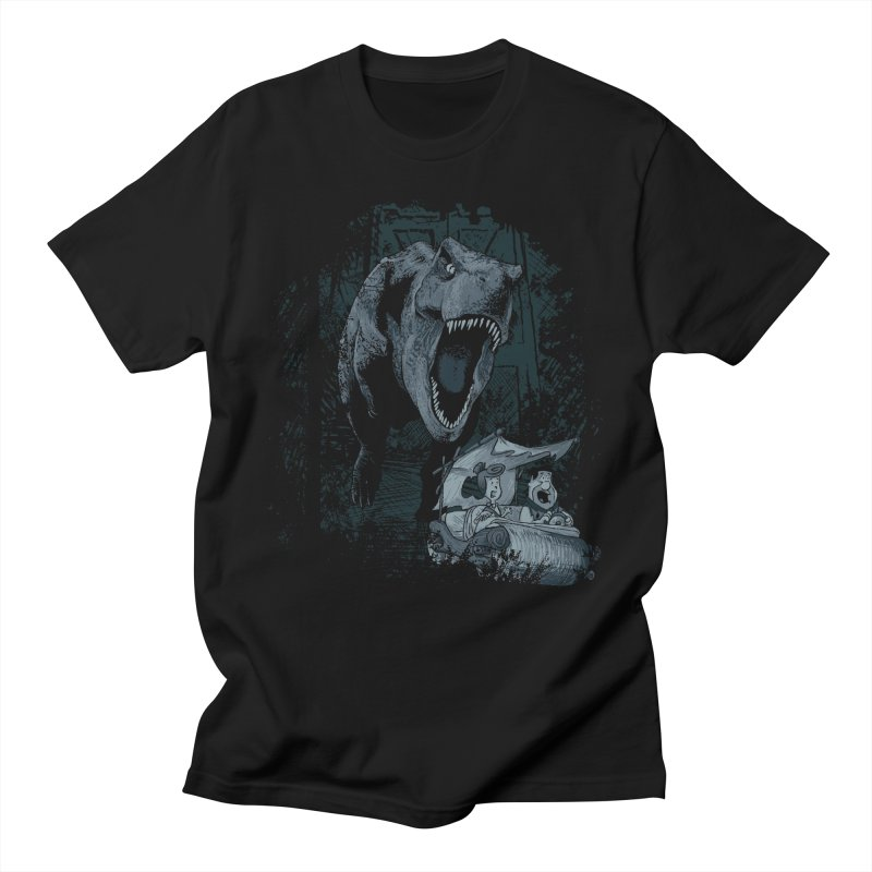 The Lost World in Men's Regular T-Shirt Black by Red Bug's Artist Shop