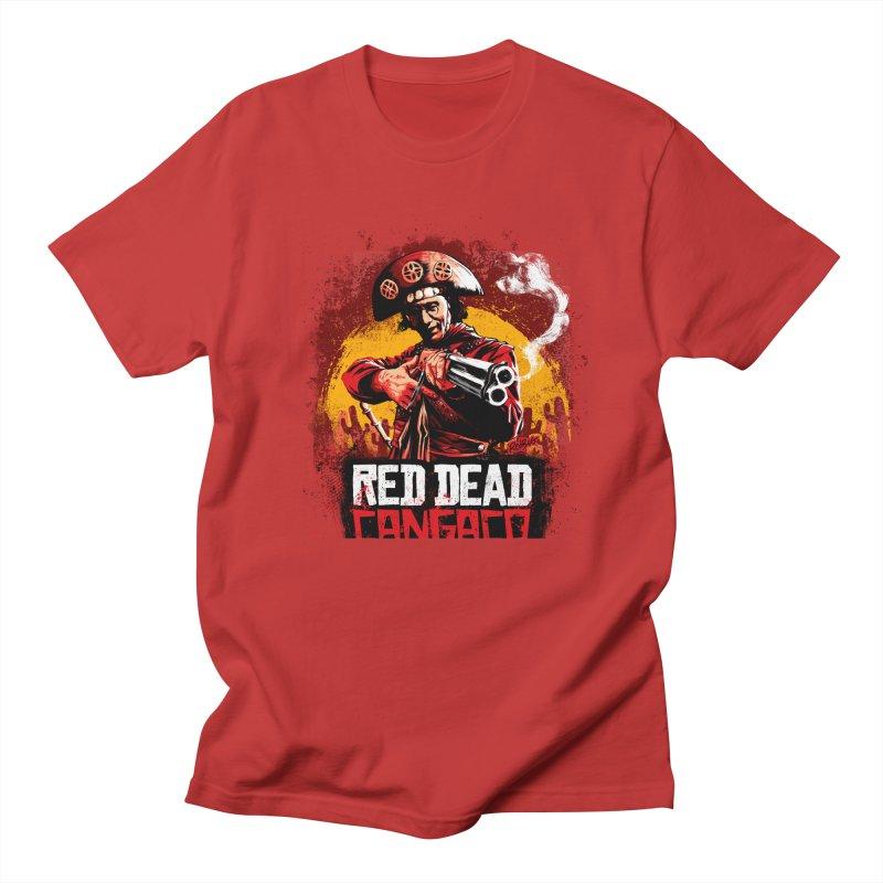 Red Dead Cangaço Men's T-Shirt by Red Bug's Artist Shop