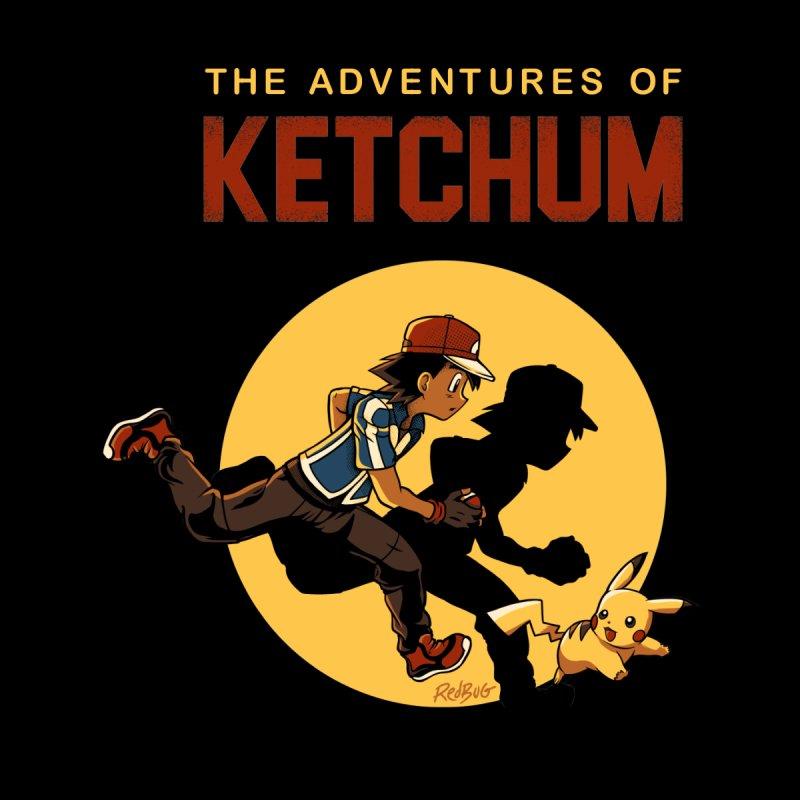 As Aventuras de Ash Men's T-Shirt by Red Bug's Artist Shop