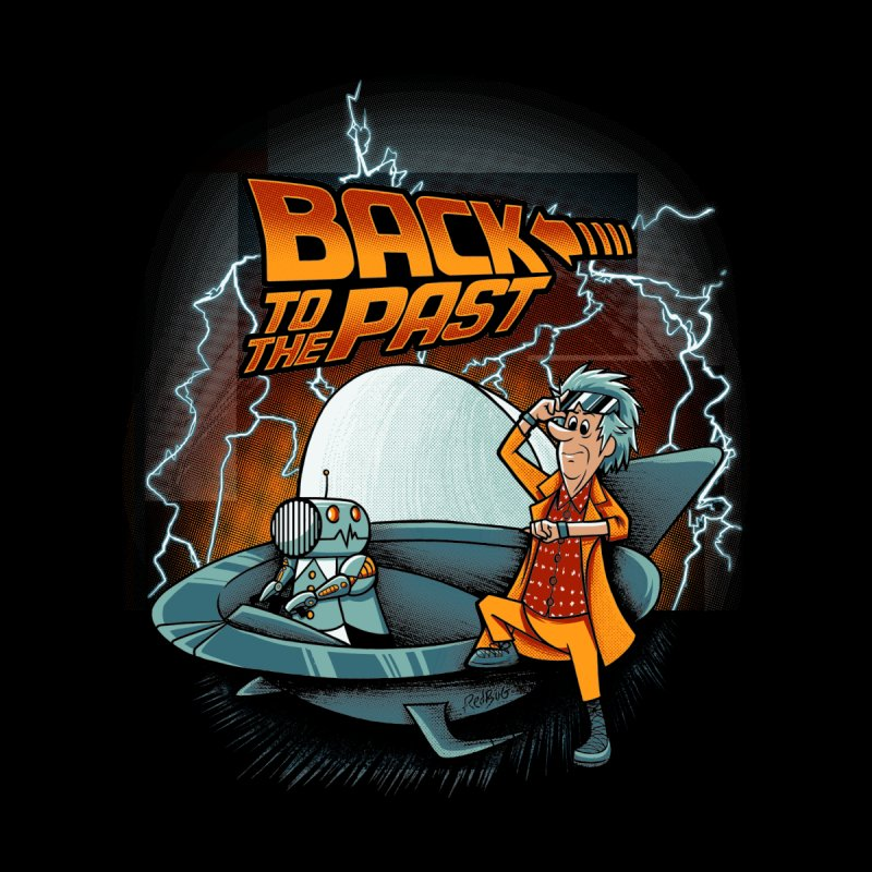 Back to the past Men's T-Shirt by Red Bug's Artist Shop