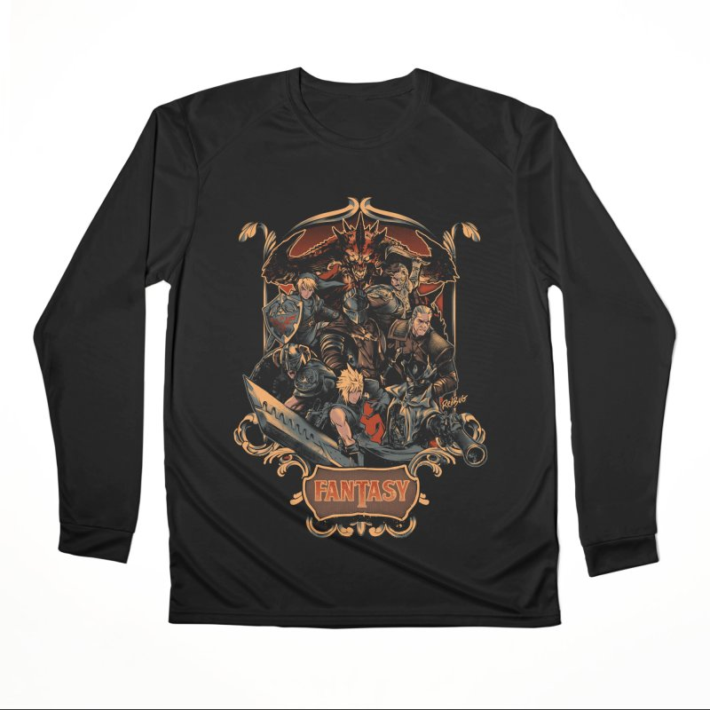 Fantasy Women's Longsleeve T-Shirt by Red Bug's Artist Shop