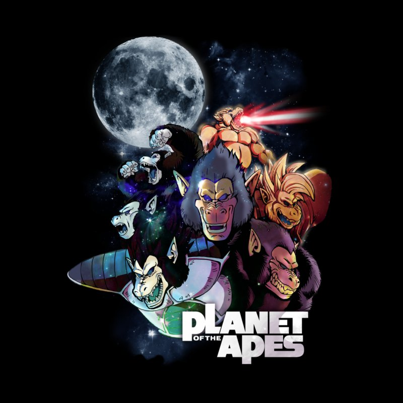 Planet of the Apes Men's T-Shirt by Red Bug's Artist Shop