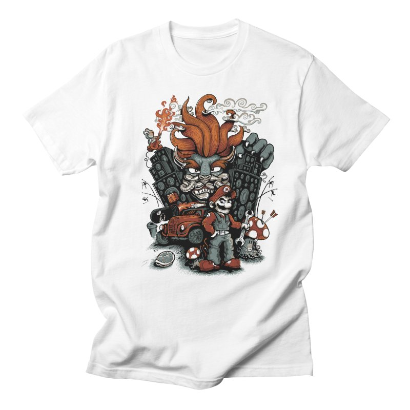 Mario Max Men's T-Shirt by Red Bug's Artist Shop