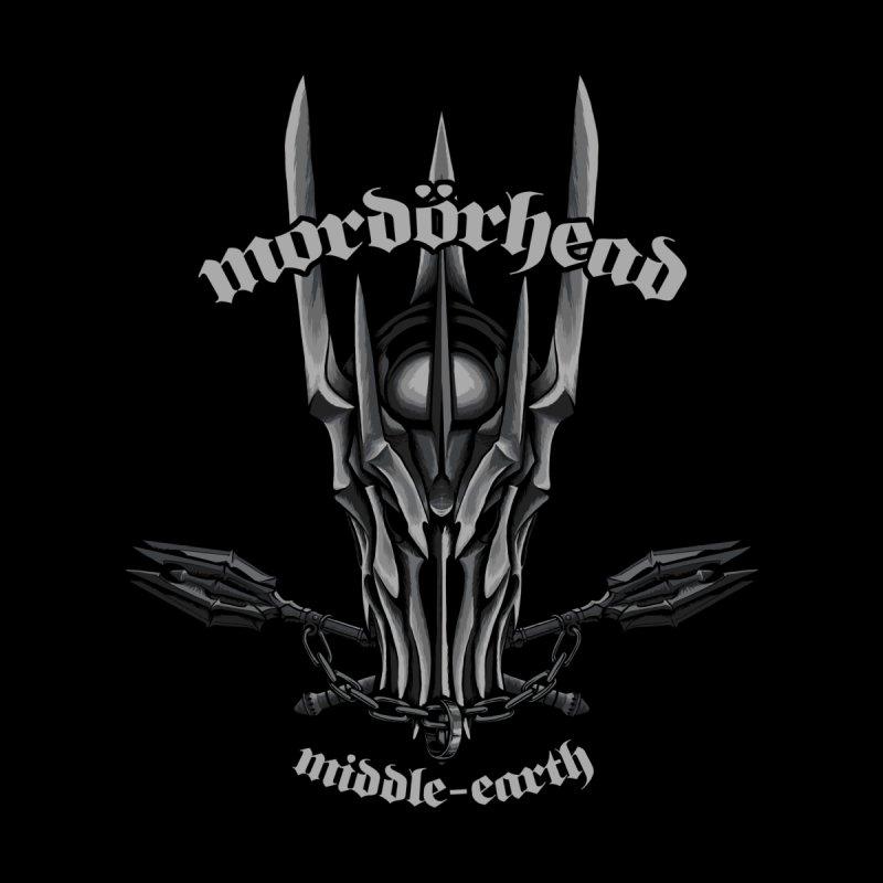 Mordorhead Men's T-Shirt by Red Bug's Artist Shop
