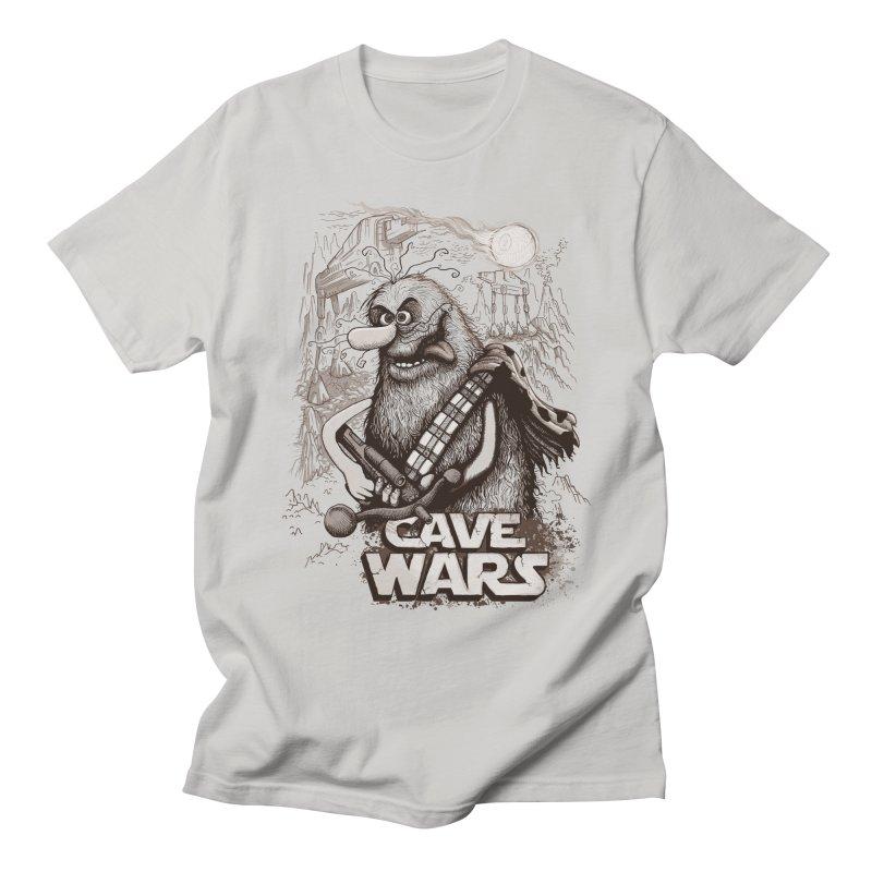 Cave Wars Men's T-Shirt by Red Bug's Artist Shop