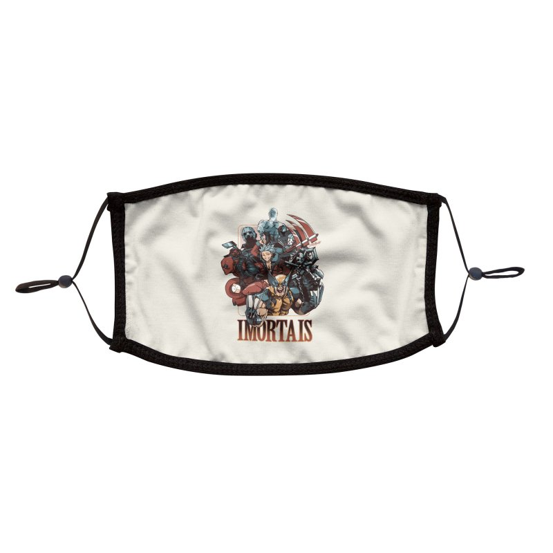 Imortais Accessories Face Mask by Red Bug's Artist Shop
