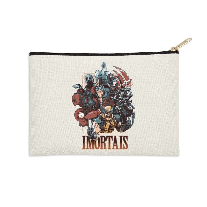Imortais Accessories Zip Pouch by Red Bug's Artist Shop