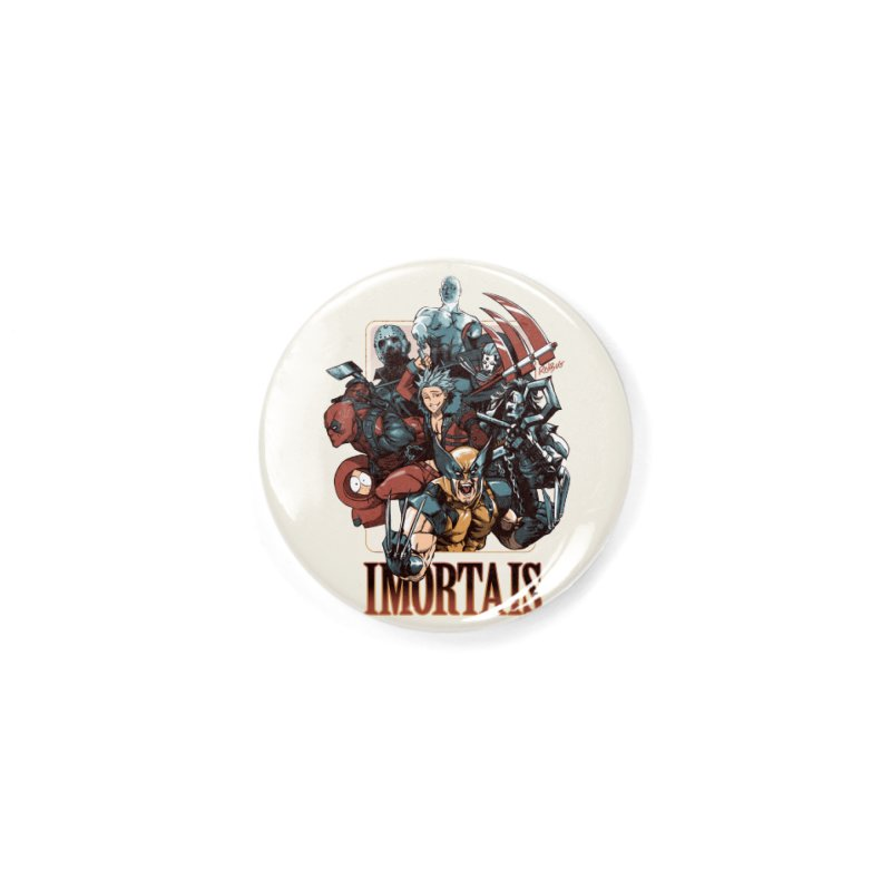 Imortais Accessories Button by Red Bug's Artist Shop