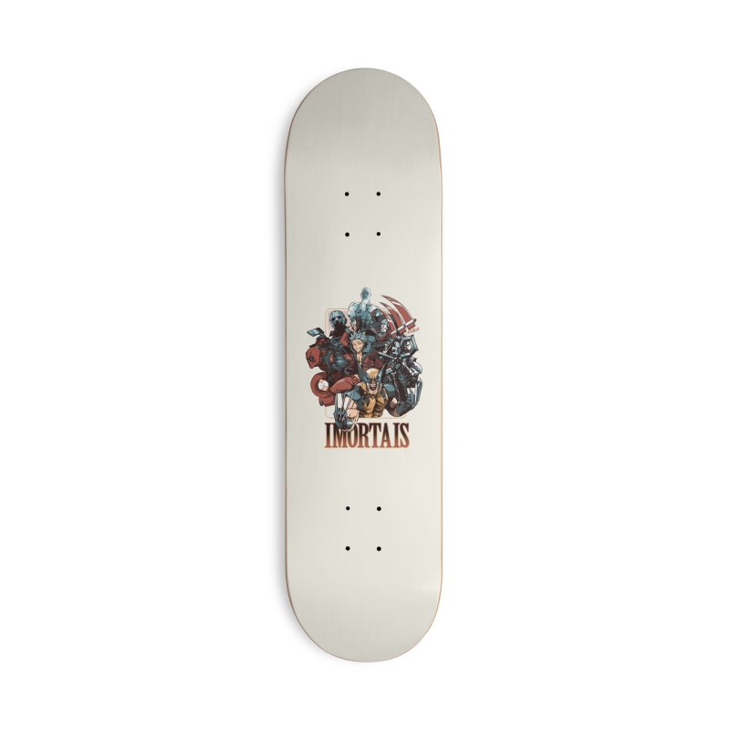 Imortais Accessories Skateboard by Red Bug's Artist Shop