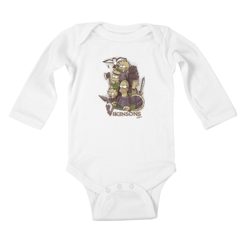 Vikinsons Kids Baby Longsleeve Bodysuit by Red Bug's Artist Shop