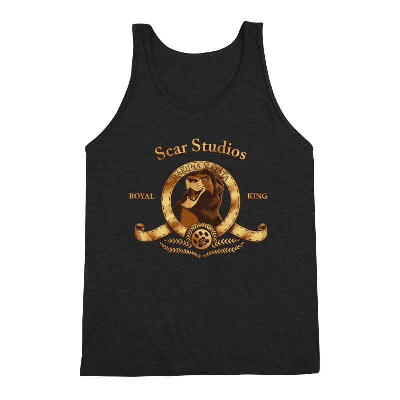 Scar Studios Men's Tank by Red Bug's Artist Shop