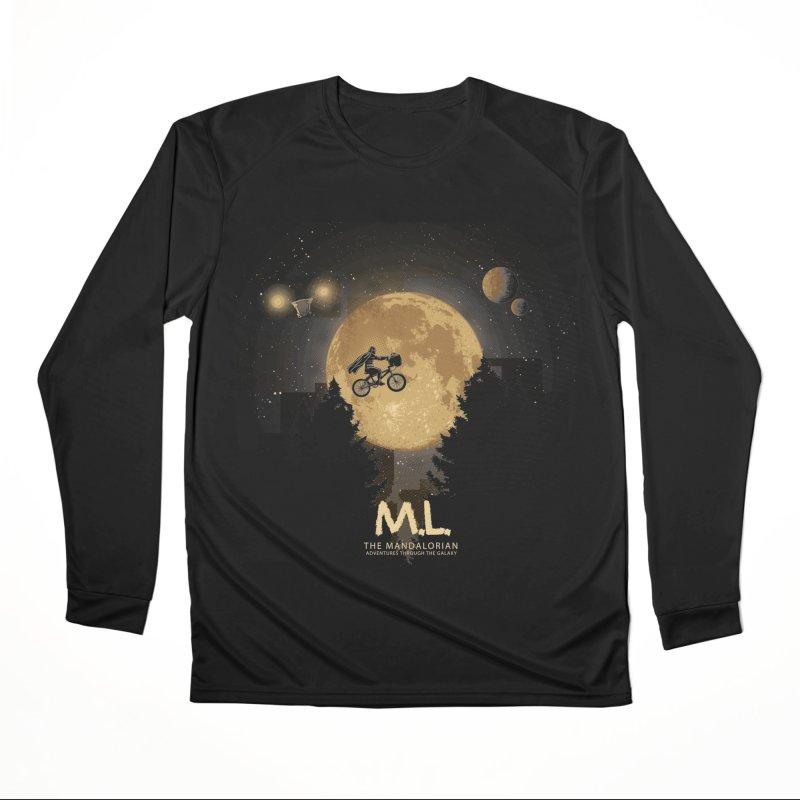 M.L. Women's Longsleeve T-Shirt by Red Bug's Artist Shop