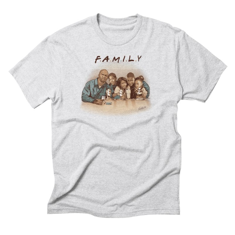 F A M I L Y Men's T-Shirt by Red Bug's Artist Shop