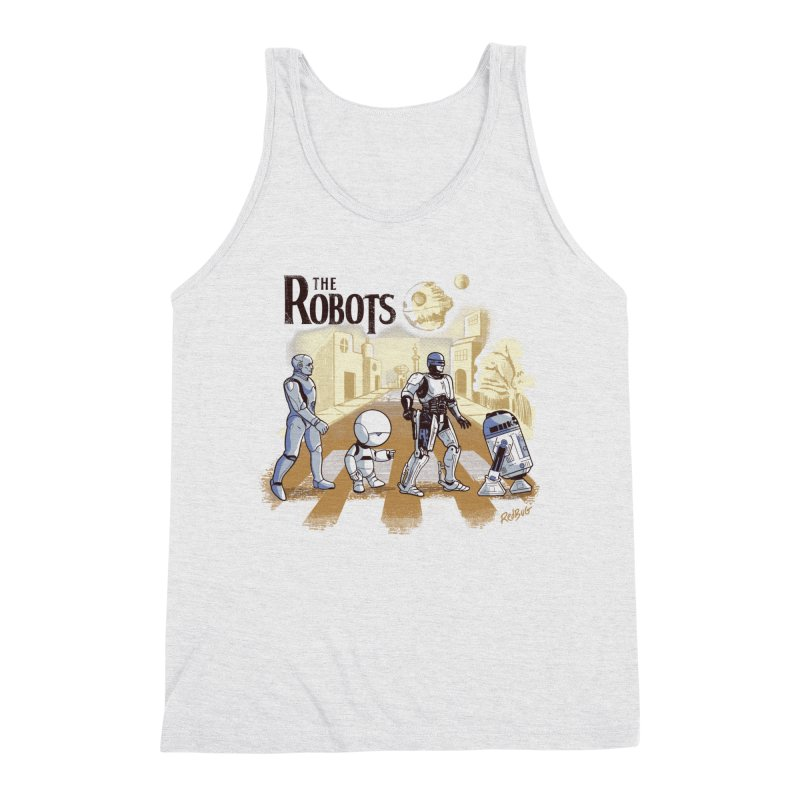 The Robots Men's Tank by Red Bug's Artist Shop