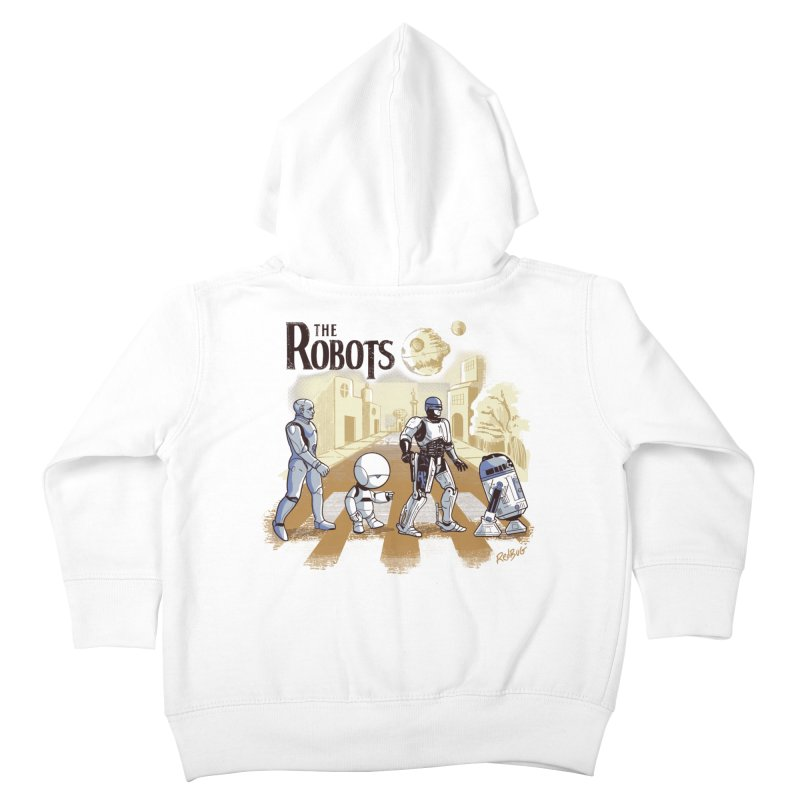 The Robots Kids Toddler Zip-Up Hoody by Red Bug's Artist Shop